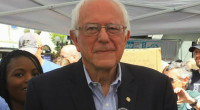 MSNBC has called it in favor of Vermont Senator Bernie Sanders.