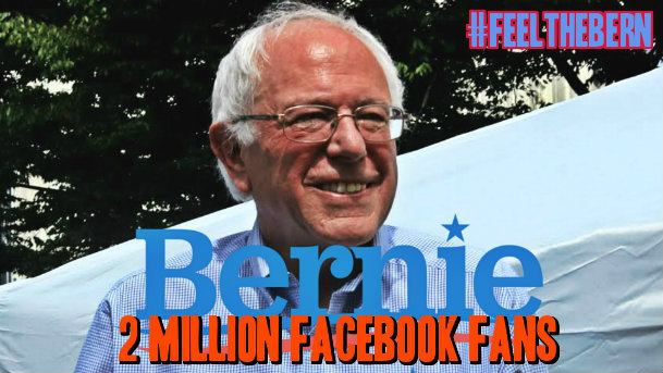 Bernie 2 Million!