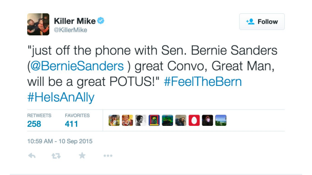 Killer Mike Bernie
