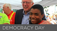 "Sen. Bernie Sanders has proposed a bill to designate ""Democracy Day"" as a national election holiday to make it easier for Americans to vote."