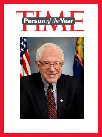 TIME person of the year Bernie