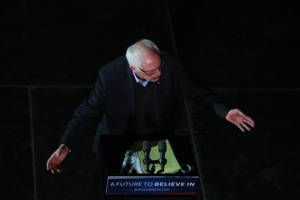 Bernie Iowa 5