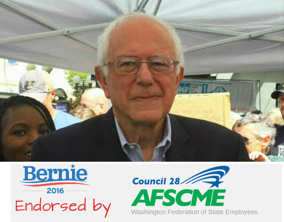 Bernie - afmsce endorsement