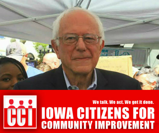 Bernie - iOWA ENDORSE