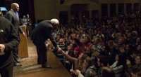 WORCESTER, Mass. – Bernie Sanders drew thousands of supporters to rallies at North High School here in this working-class city and earlier Saturday at the University of Massachusetts at Amherst. […]