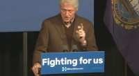 Bill Clinton recently spoke to a crowd at a Hillary Clinton rally in Concord, New Hampshire. With news breaking of Bernie Sanders taking the lead in multiple polls in Iowa […]
