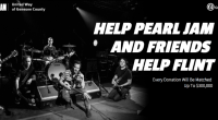 FANS AND SUPPORTERS ENCOURAGED TO JOIN IN EFFORTS AT  CROWDRISE.COM/PEARLJAM Pearl Jam and the band's manager Kelly Curtis have pledged a donation of $125,000 to The United Way of Genesee […]