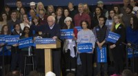From www.berniesanders.com PORTSMOUTH, N.H. – U.S. Sen. Bernie Sanders on Sunday brought his presidential campaign to a college gymnasium here where more than 1,200 loud and boisterous supporters cheered his […]
