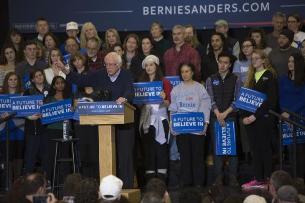 Photo courtesy of berniesanders.com