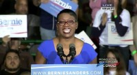 "another surrogate for Vermont Sen. Bernie Sanders, the fiery Nina Turner, said she was ""Still Fighting"" when CNN's Jack Tapper asked if she is going to vote for Clinton."