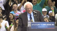 In an almost dream like moment, at a rally in Portland Oregon today, a tiny bird decided to visit Bernie Sanders at the podium. Bernie, being the gentlemen he is, […]
