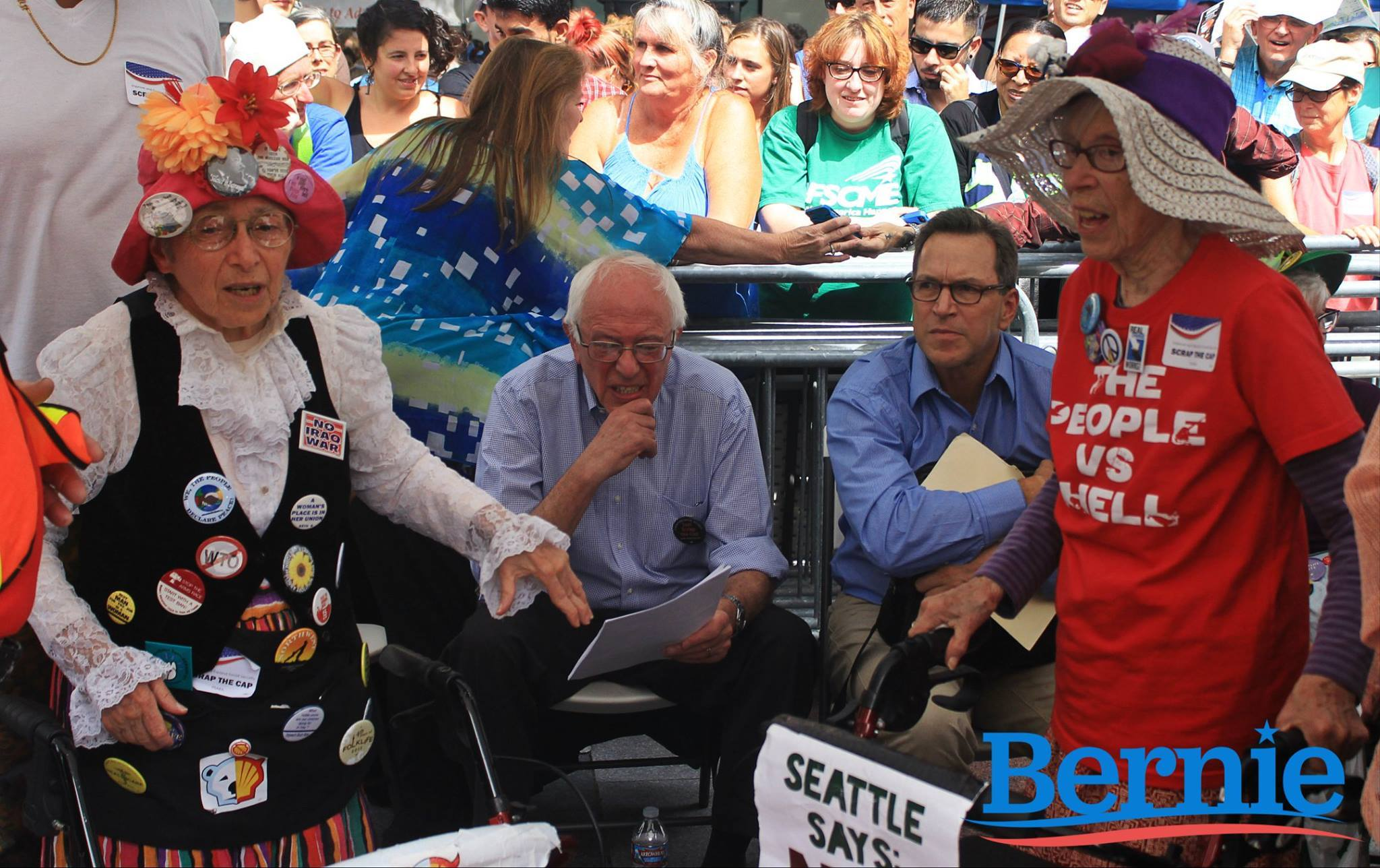 Bernie and older supporters