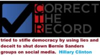 "After months of complaining about alleged ""Bernie Bros,"" the Clinton campaign has shown its ironic true colors by engaging in a digital attack on Bernie Sanders groups on social media.  Sadly, the mainstream media appears to be missing in action..."