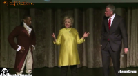 Hillary Clinton and Bill de Blasio did a racist joke at a charity event in New York this past Saturday 4/9/2016. The Inner Circle event is a charity event where […]