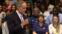Money In Politics Secretary Hillary Clinton received one of the more honest introductions that I have heard this entire election cycle. The orator, Sen. Tom Carper, spoke of Clinton's' goals moving […]