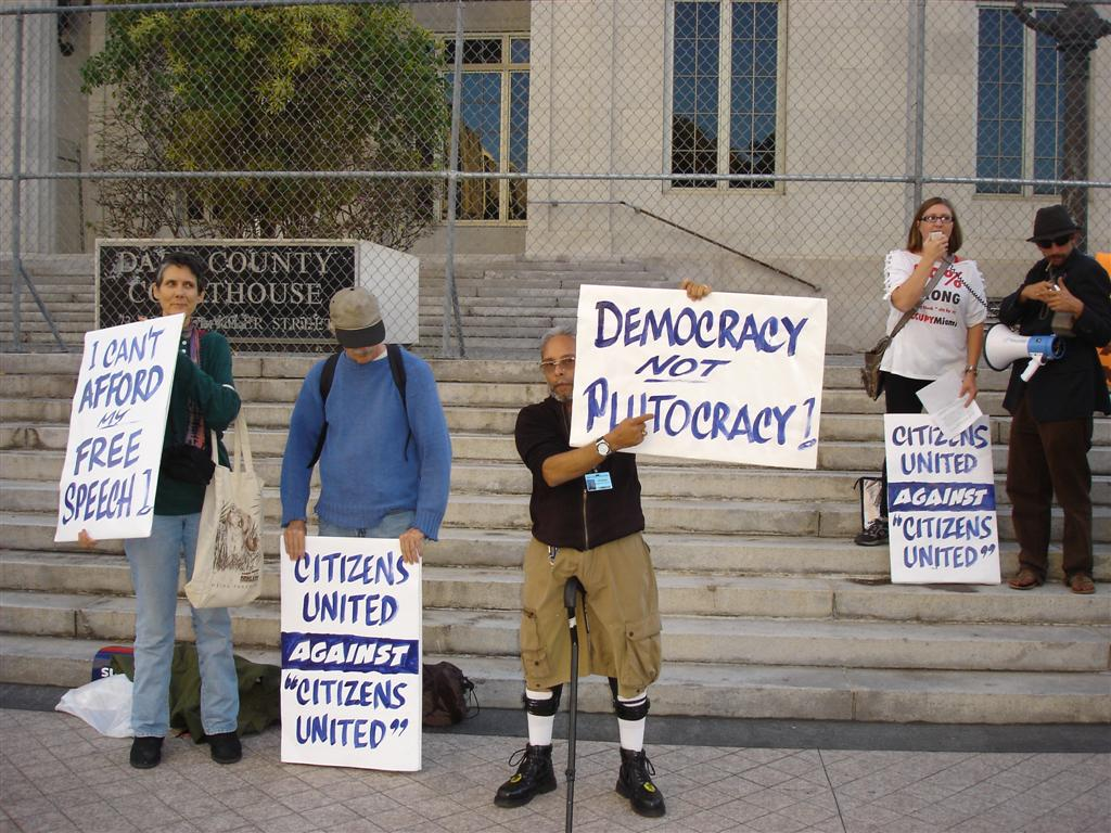 Photo from Occupy Miami Photos via Flickr.com
