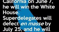 Democratic superdelegates are shaking in their boots, and rightly so.  The vast majority of these unpledged delegates, who will cast their votes at the Democratic National Convention in late July, […]