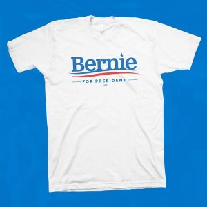 bernie white shirt